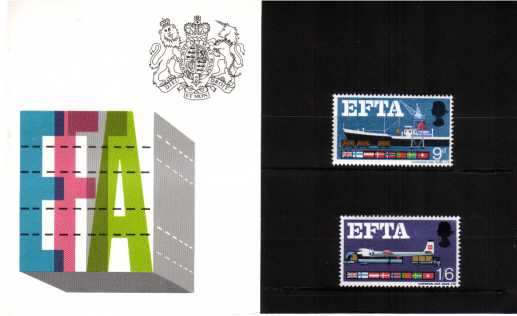 Stamp Image: view larger back view image for E.F.T.A.