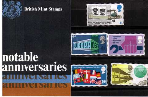 Stamp Image: view larger back view image for Anniversaries