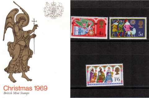 Stamp Image: view larger back view image for Christmas