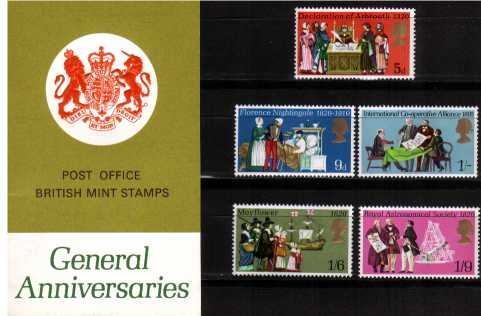 Stamp Image: view larger back view image for General Anniversaries