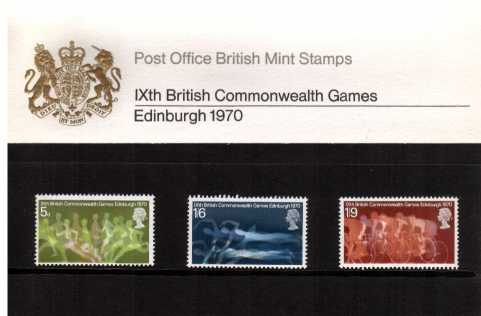 Stamp Image: view larger back view image for British Commonwealth Games