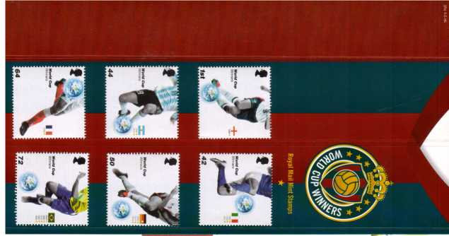Stamp Image: view larger back view image for World Cup Winners<br/><br/>