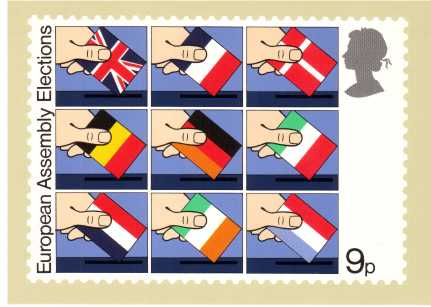 view larger image for PHQ No.35 (1979) - European Elections<br/>Set of four
