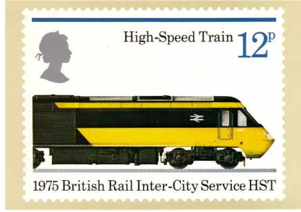 view larger image for PHQ No.12 (1975) - Trains<br/>Set of four