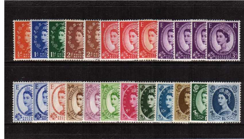 view larger image for SG 610-618 (1960) - Elizabeth II <br/>