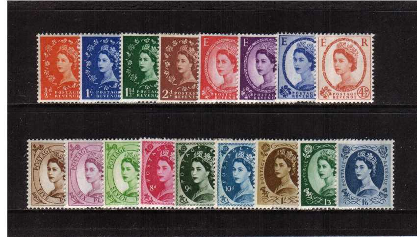 view larger image for SG 610-618 (1960) - Elizabeth II<br/>