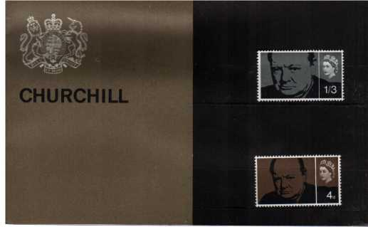 Stamp Image: view larger back view image for Churchill