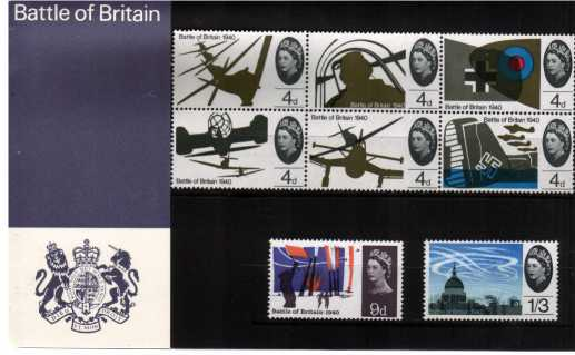 Stamp Image: view larger back view image for Battle of Britain