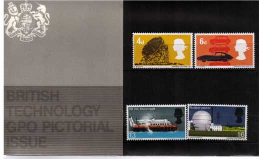 Stamp Image: view larger back view image for British Technology