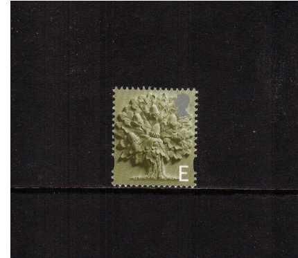 view larger image for SG EN3 (23 April 2001) - 'E' Olive-Green and Silver