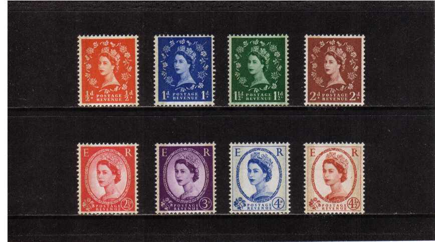 view larger image for SG 599-609 (1959) - Elizabeth II <br/>
