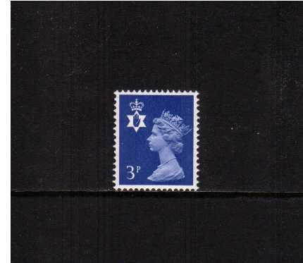 view larger image for SG NI13 (1971) - 3p Ultramarine - 2 Bands