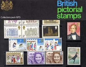 view larger image for SG CP948k (1973) - Collectors Year Pack<br/>SG Cat �27