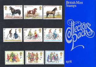 view larger image for SG CP1074a (1978) - Collectors Year Pack<br/>SG Cat �10