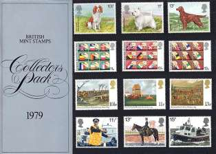 view larger image for SG CP1108a (1979) - Collectors Year Pack<br/>SG Cat �12