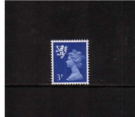 view larger image for SG S15 (1971) - 3p Ultramarine - 2 Bands - PVA Gum
