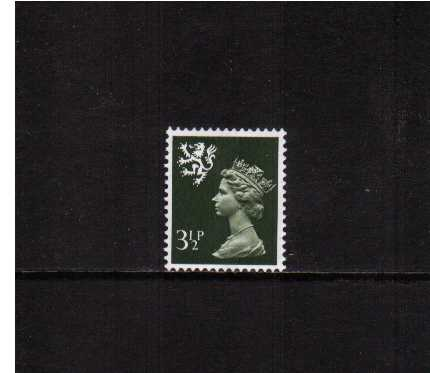 view larger image for SG S18 (1974) - 3½p Olive-Grey - Centre Band