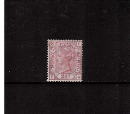 view larger image for SG 139 (1875) - 2�d Rosy Mauve - Watermark Small Anchor - from Plate 2 lettered 'E-K'. A very fresh stamp lightly mounted mint. SG Cat �525