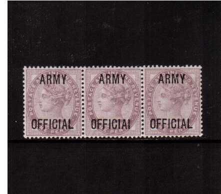view larger image for SG O43a (1896) - <b>ARMY OFFICIAL</b><br/>