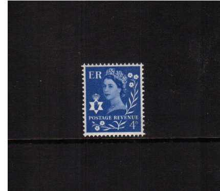 view larger image for SG NI2p (1967) - 4d Ultramarine - 2 Bands