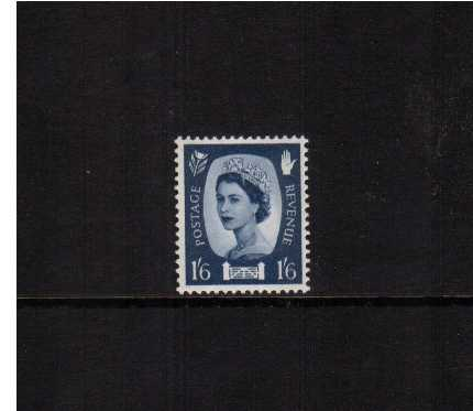 view larger image for SG NI6 (1958) - 1/6d Grey-Blue - 2 Bands