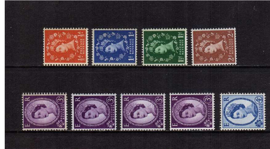 view larger image for SG 610a-616ab (1960) - Elizabeth II<br/>
