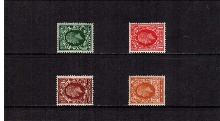 view larger image for SG 439a-442b (1934) - George 5th<br/>