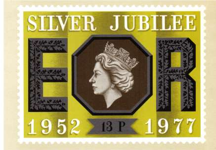 view larger image for PHQ No.22 (1977) - Silver Jubilee<br/>Set of five