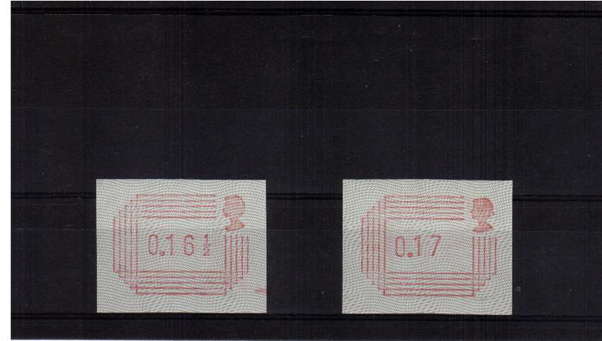 view larger image for SG mentioned (1984) - 16� -17p Superb unmounted mint set of two.