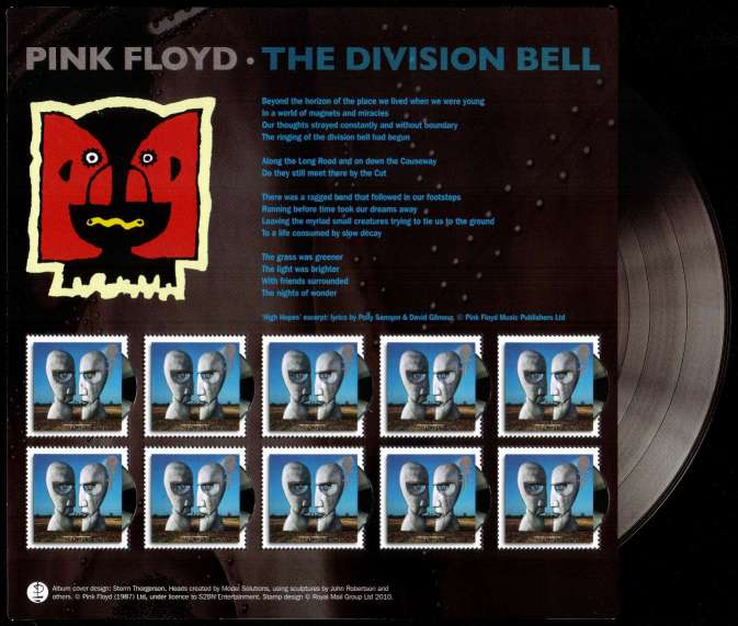 view larger image for SG MS3019v (6 Mar 2010) - Classic Album Covers Series<br/>
