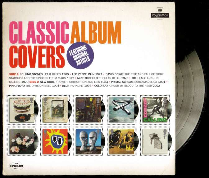 view larger image for SG MS3019 (7 Jan 2010) - Classic Album Covers Series<br/>